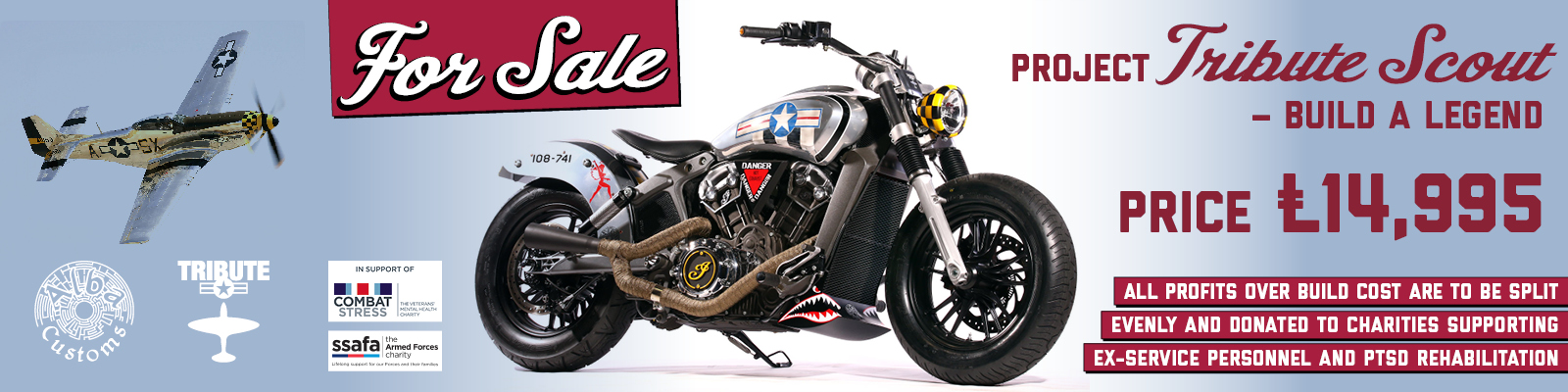 2016 Project Scout Tribute Bike for sale