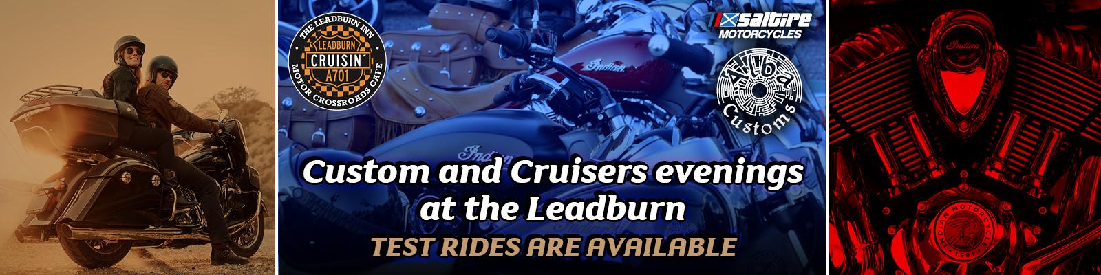 Leadburn customs and cruisers evening