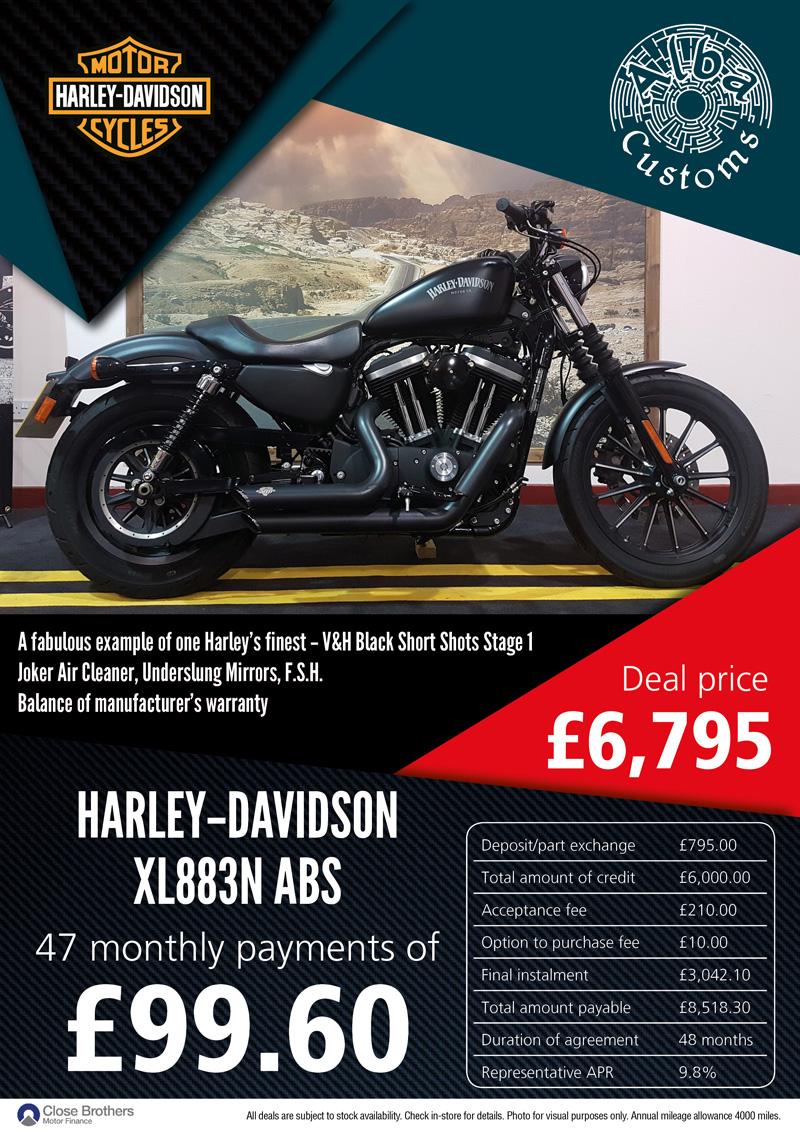 HARLEY-DAVIDSON XL883N ABS