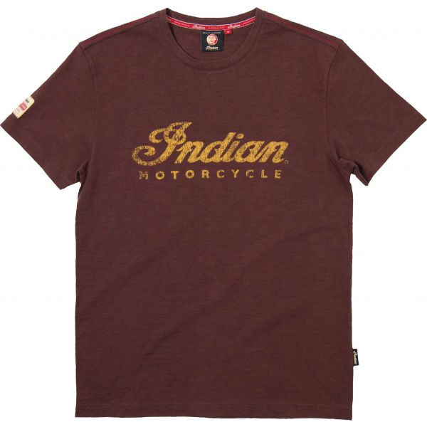 Indian Motorcycle Brown Logo T-Shirt