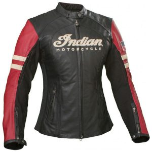 Indian Motorcycle Ladies Racer Leather Jacket