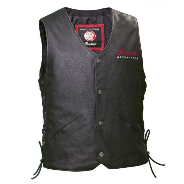 Indian Motorcycle Leather Vest