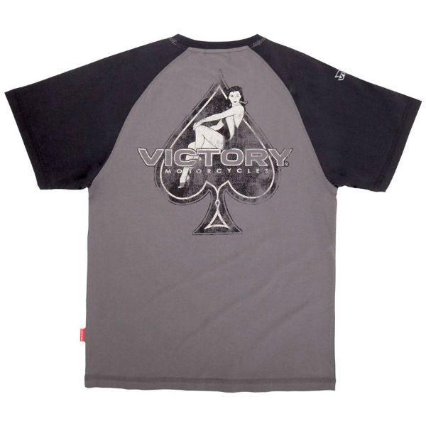 Victory Motorcycles Age Raglan T-Shirt Back
