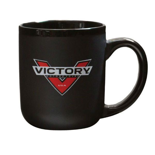 Victory Motorcycles Badge Logo Mug