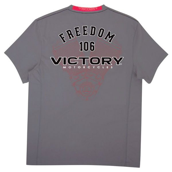 Victory Motorcycles Engine T-Shirt Back