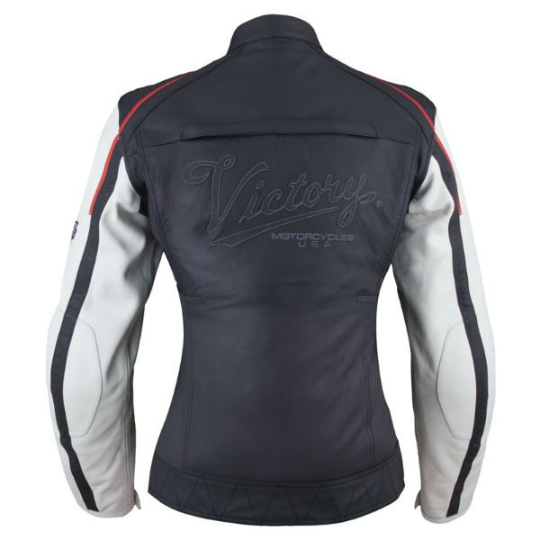 Victory Motorcycles Ladies Cascade Leather Jacket Back