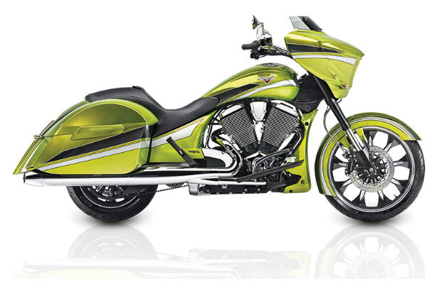 2015 Magnum Plasma Lime with Silver £17,699