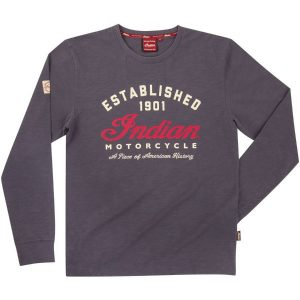 Indian Motorcycle Established Long Sleeve T-Shirt
