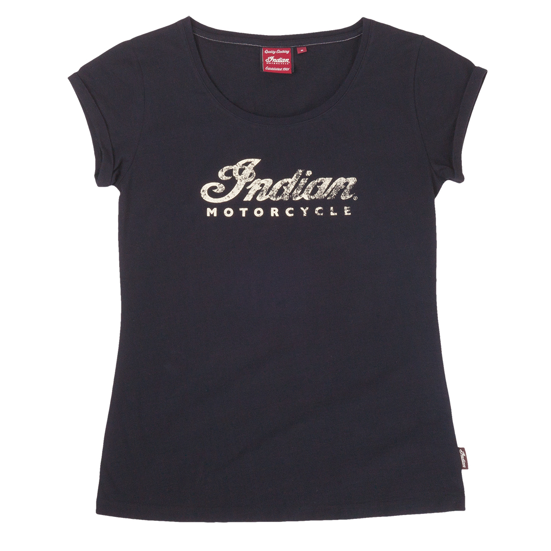 Indian Motorcycle Ladies Logo Scoop Neck T-Shirt