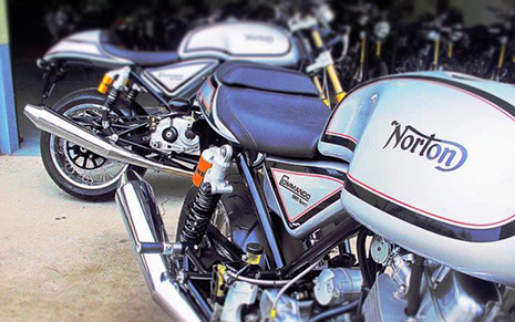 norton commando 961 cafe racer - alba customs edinburgh