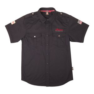 Indian Motorcycle Casual Black Shirt