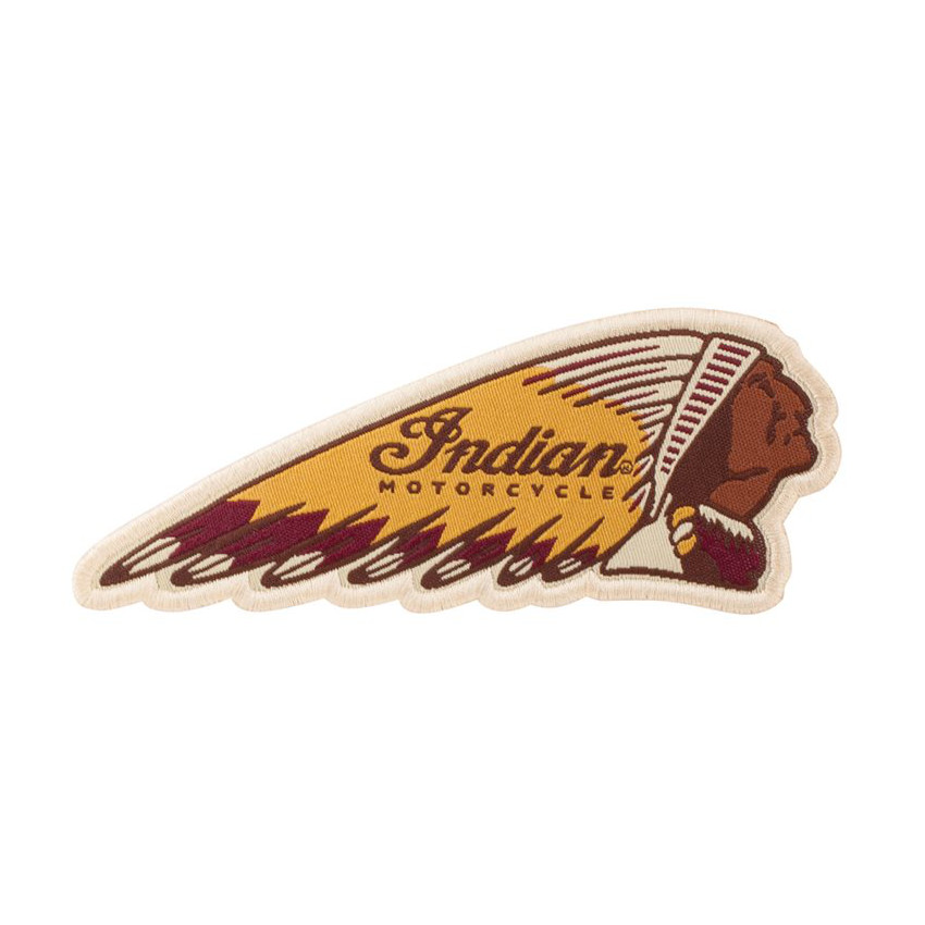 Indian Motorcycle Colour Headdress Pacth