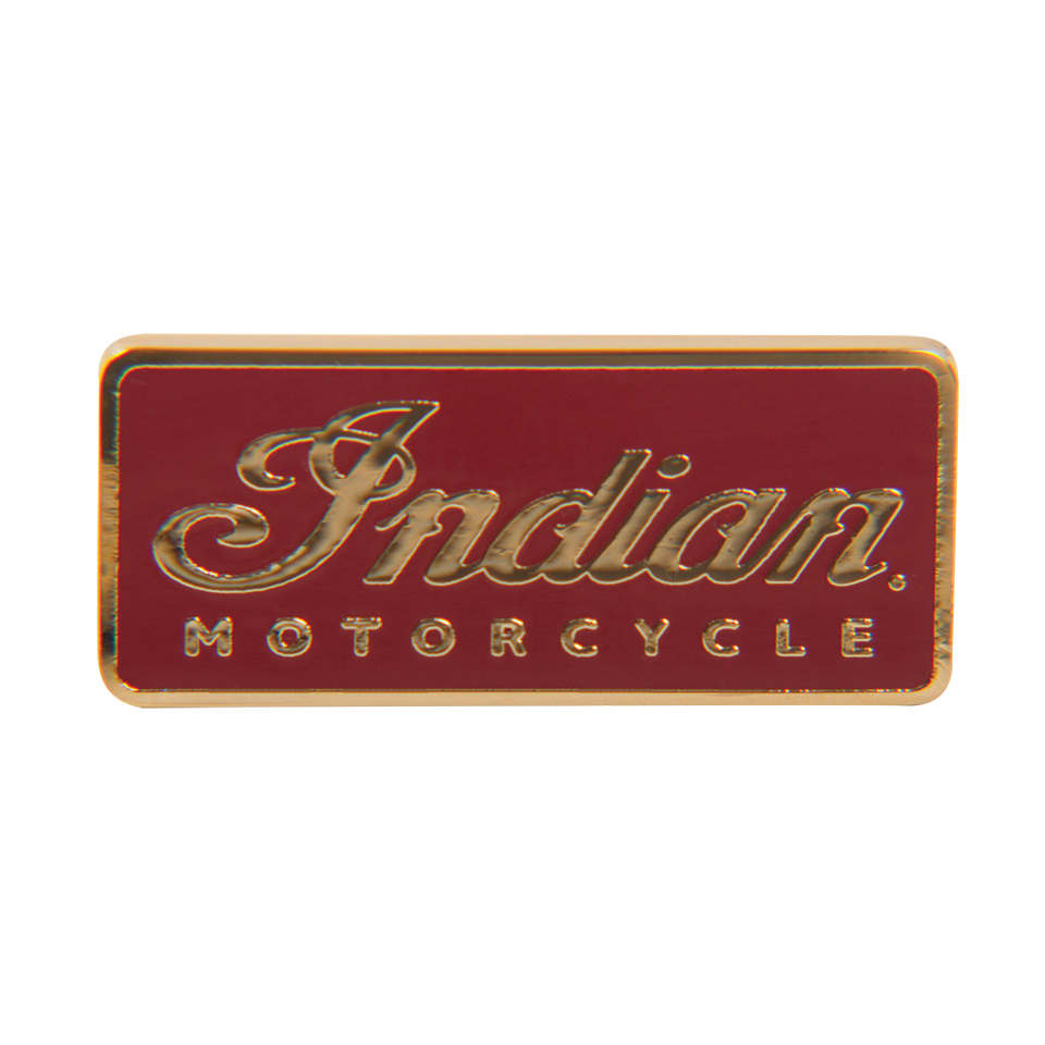 Indian Motorcycle Logo Pin Badge