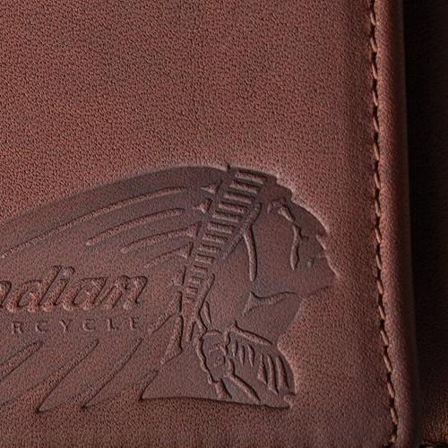 Indian Motorcycle Tri-Fold Wallet Detail