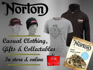 Norton Motorcycles Clothing in store & online