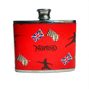 Norton Motorcycles Hip Flask