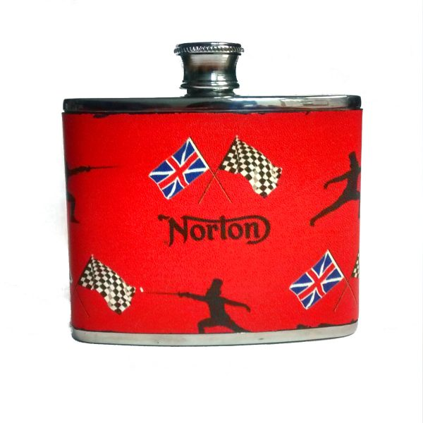 Norton Motorcycles Hip Flask