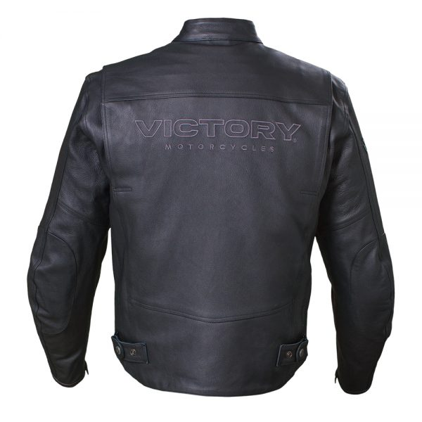 Victory Motorcycle Kingston Leather Jacket Back