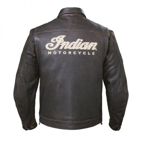 Indian Motorcycle Classic 2 Leather Jacket Back