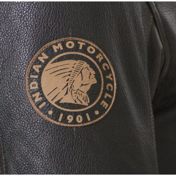 Indian Motorcycle Classic 2 Leather Jacket Pacth