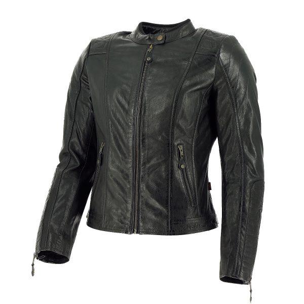 Richa Lausanne Ladies Leather Jacket Black