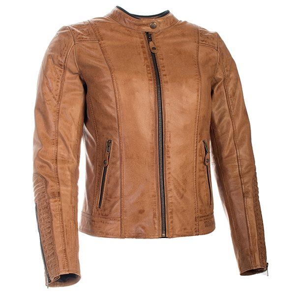 Richa Lausanne Ladies Leather Jacket Cognac