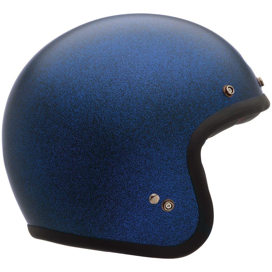 Custom 500 Matte Blue Flake