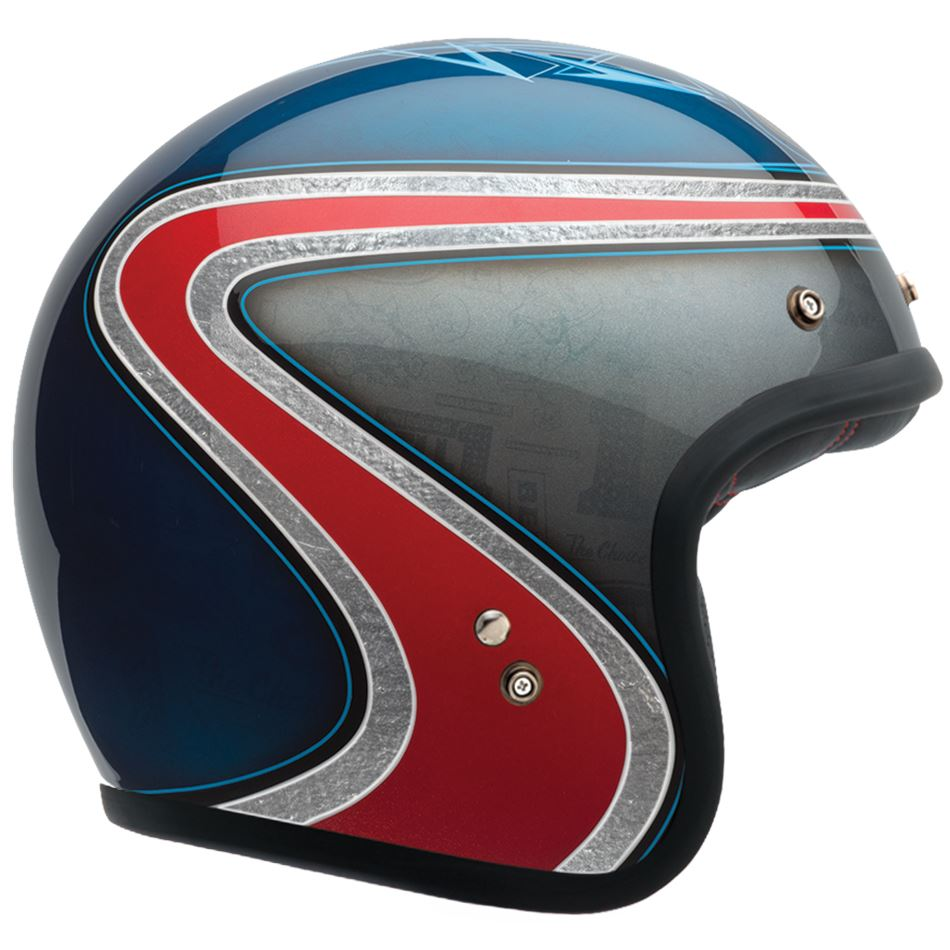 Custom 500 SE Airtrix Heritage Blue/Red