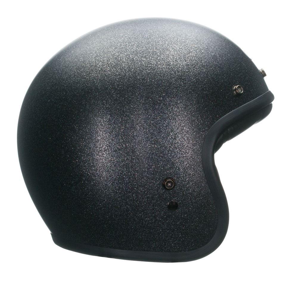 Custom 500 Solid Black Flake