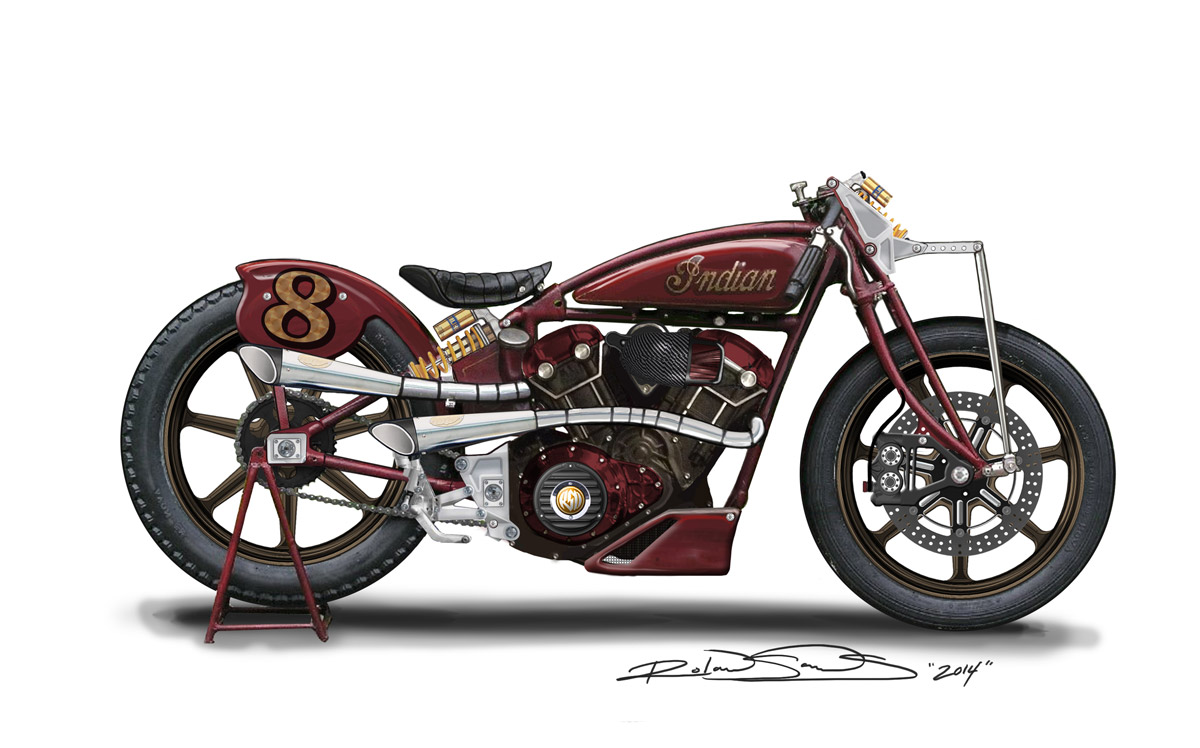 Roland Sands on building the RSD Scout