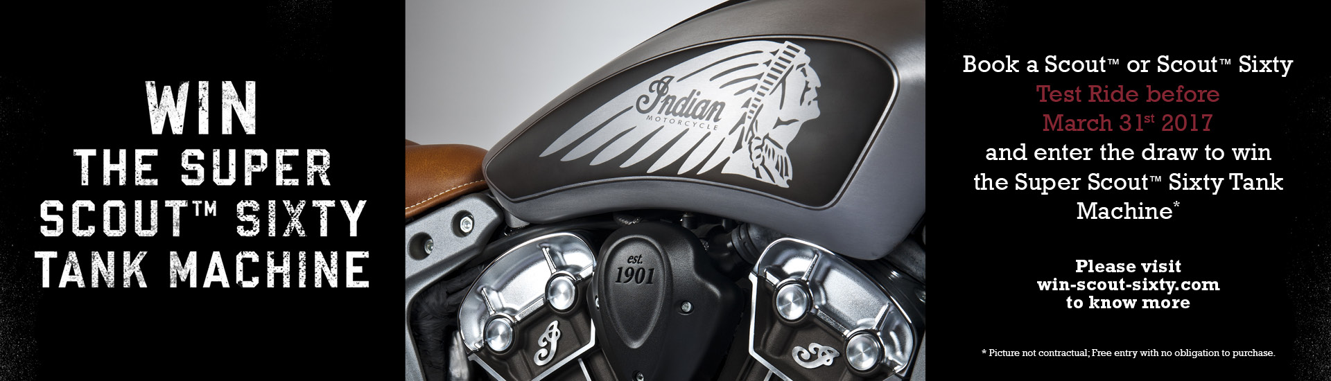 Indian Scout Tank Machine