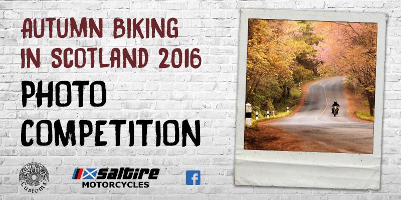 Photo Competition - Autumn Biking in Scotland