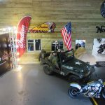 Project Indian Scout Tribute with American Jeep and Marines
