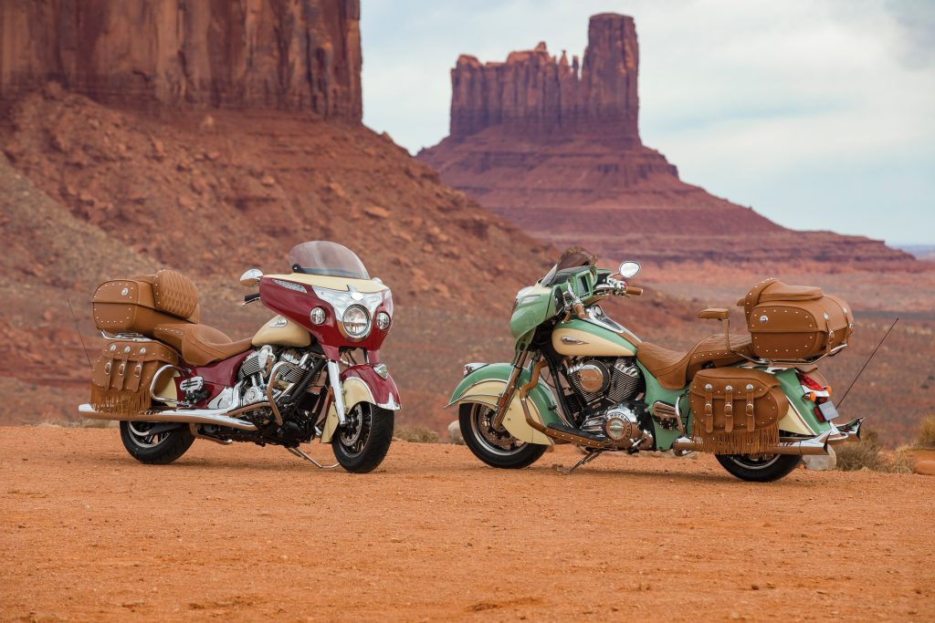 2017 Roadmaster Classic - The two two-tone colour schemes