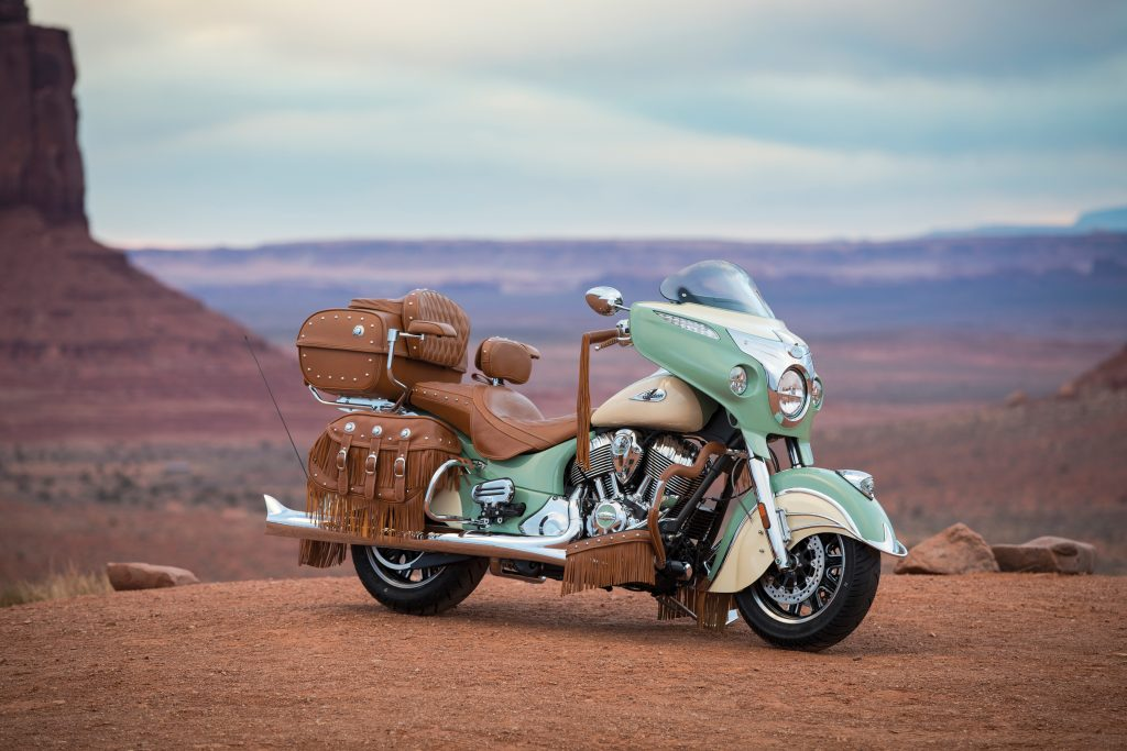2017 Roadmaster Classic - Accessorised version of the Roadmaster Classic showing what can be achieved with official accessories