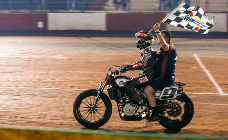Indian Wrecking Crew takes a podium sweep at Atlanta Short Track