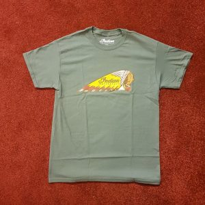 Indian Alba Headdress T-Shirt Grey Front