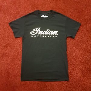 Indian Alba Logo T-Shirt Black Front
