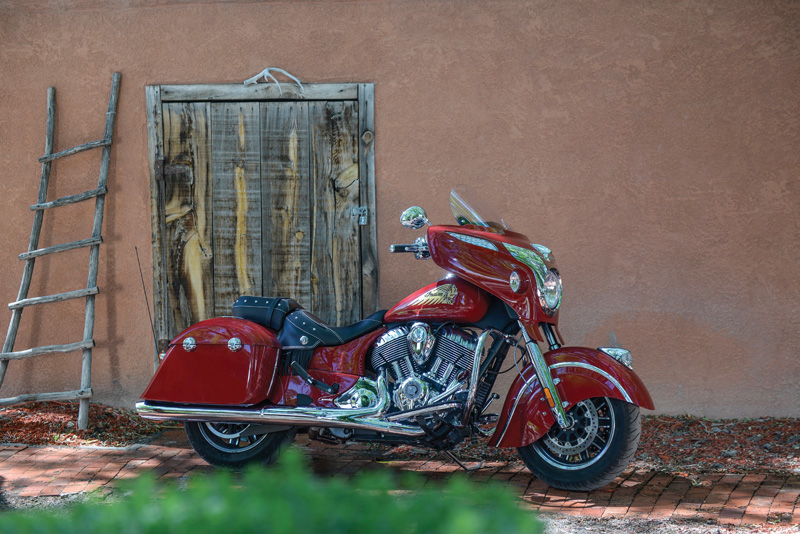 2018 Indian Motorcycles lineup - Chieftain Classic