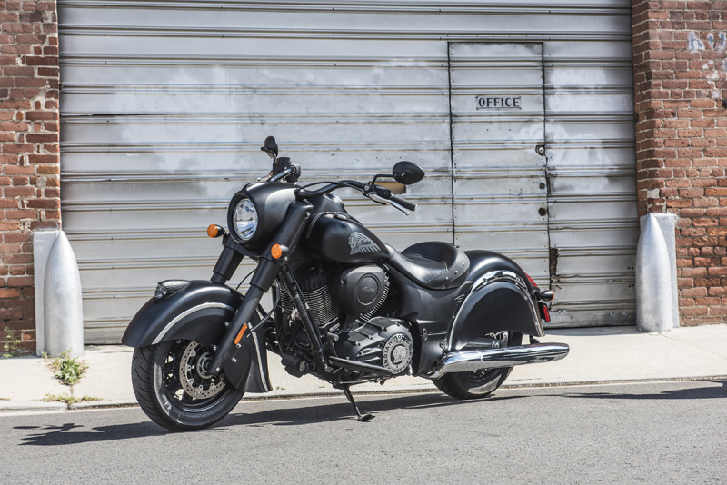 2018 Indian Motorcycles lineup - Chief Dark Horse
