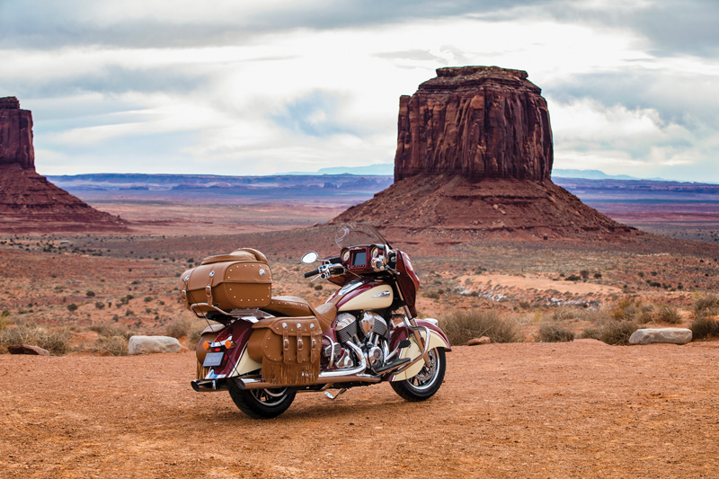 2018 Indian Motorcycles lineup - Roadmaster Classic