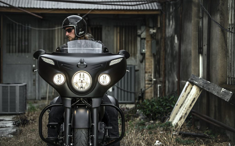 2018 Indian Motorcycles lineup - Chieftain Dark Horse