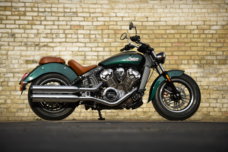2018 Indian Motorcycles lineup - Scout