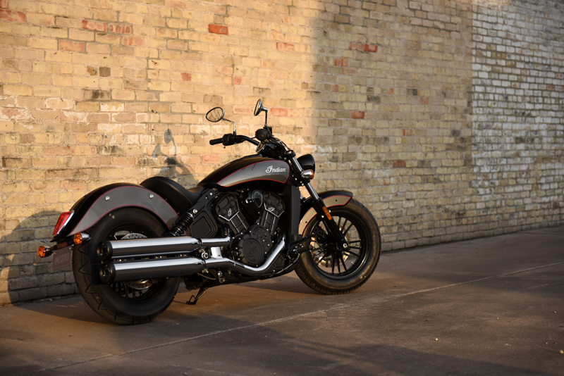 2018 Indian Motorcycles lineup - Scout Sixty
