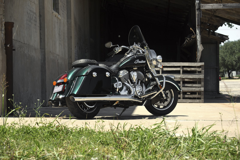 2018 Indian Motorcycles lineup - Springfield