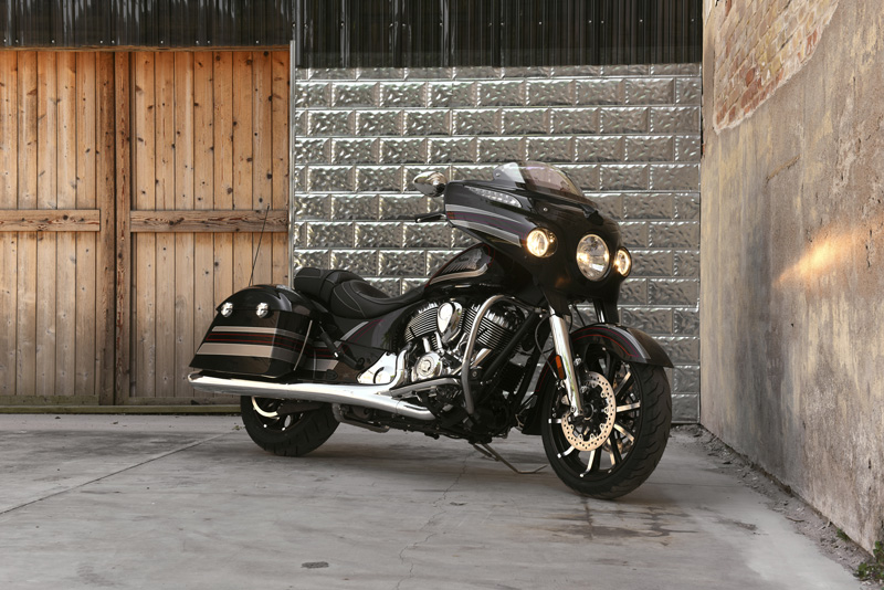 2018 Indian Motorcycles lineup - Chieftain Limited