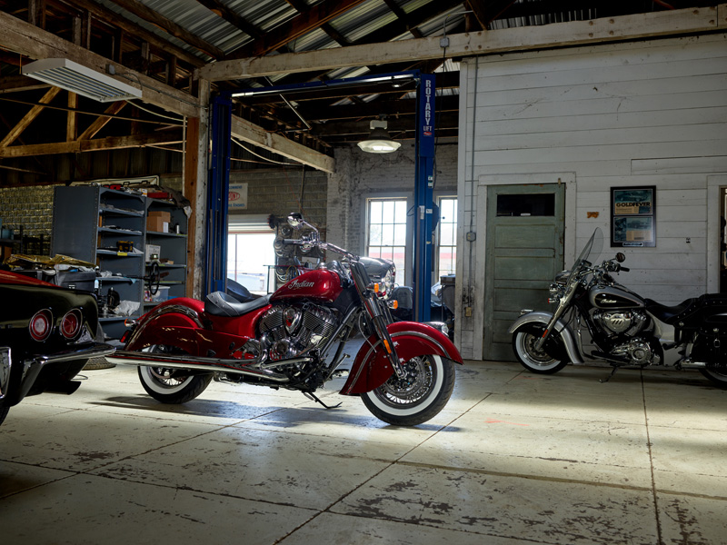 2018 Indian Motorcycles lineup - Chief Classic