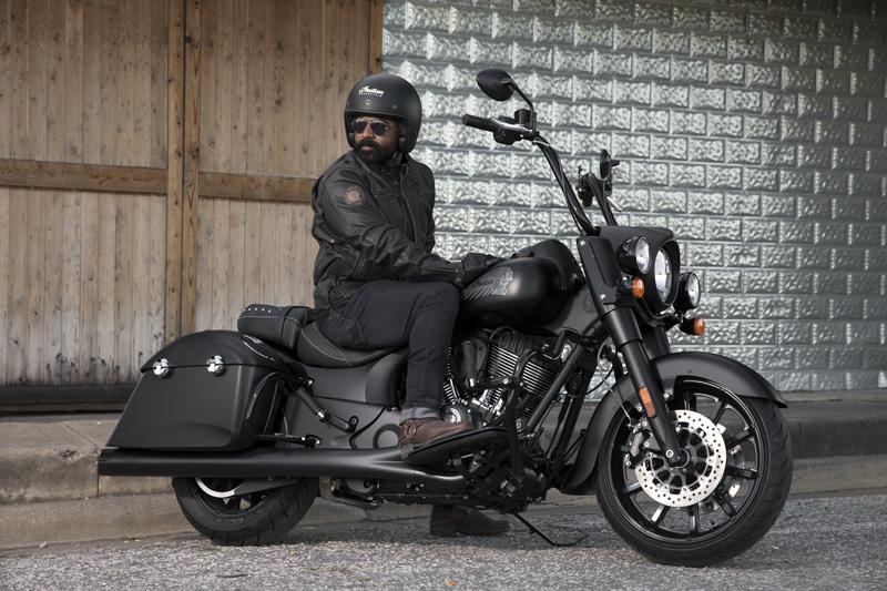 2018 Indian Motorcycles lineup - Springfield Dark Horse