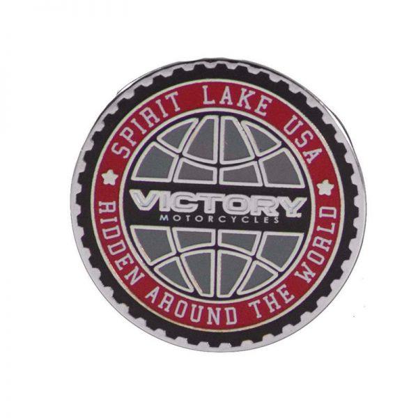 Victory Globe Pin