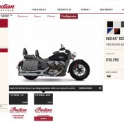 Indian Motorcycle – New Build Configurator